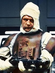 Dengar is a fairly well known character from Star Wars – fans of the series will know that he's a Corellian with a lot of work done under the hood (cybernetics). Description from belloflostsouls.net. I searched for this on bing.com/images
