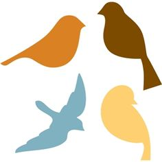 Silhouette Design Store - View Design bird collection You are in the right place about humming Birds Here we offer you the most beautiful pictures about the angry Birds you are looking for. Bird Template, Silhouette Design, Bird Silhouette Art, Bird Patterns, Diy Garden Decor, Bird Art, Store Design, Easter Crafts, Preschool Activities