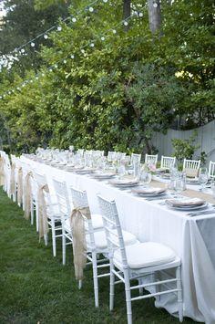 Al fresco dining. Wedding Table Decorations, Wedding Table Settings, Wedding Tables, Wedding Centerpieces, Wedding Reception Design, Wedding Ideas, Wedding With Kids, Al Fresco Dining, Outdoor Dining
