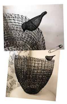::emma davies handwoven baskets.  try with paper rush for soft openweave storage
