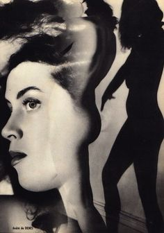 lauramcphee:Nude collage, c1950 (Andre de Dienes)