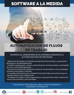 Software a la medida. Automatización de procesos.