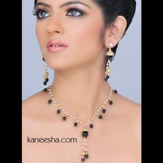 Stylish Faux Pearl Chain Necklace Set Price: Usa Dollar $69, British UK Pound £41, Euro51, Canada CA$ 75, Indian Rs3726.