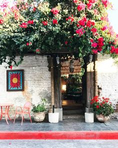 Inspiring exterior in Todos Santos in Baja California Todos Santos Baja California, Baja California Mexico, Vacation Destinations, Dream Vacations, Resorts, San Jose Del Cabo, Mexico Travel, Coastal Style, Wanderlust Travel