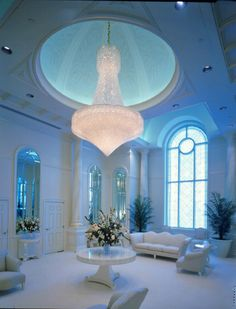 St. Louis Missouri Temple Celestial Room