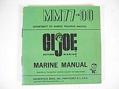 Gi Joe Action Marine 1964 Mm77 00 Marine Manual