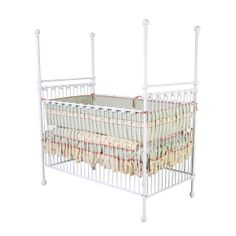 Our new crib (except ours is pewter)!!!  - Unisex Four Poster Iron Crib by Corsican Iron Furniture