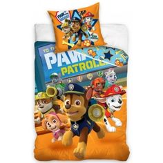 Posteľná obliečka pre deti s rozprávkovým motívom PAW PATROL Single Duvet Cover, Duvet Cover Sets, Paw Patrol Bedding, Beds Uk, Barbie, Kid Character, How To Make Bed, Bedroom, Little Girl Clothing