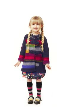 love this funky sweater. Blonde Baby Girl, Blonde Babies, Kenzo Kids, Presents For Kids, Girl Fashion, Fashion Kids, Knitted Coat, I Love Lucy, Modern Kids