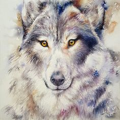 Buy Grey Wolf Gregory, Watercolor by Arti Chauhan on Artfinder. Discover thousands of other original paintings, prints, sculptures and photography from independent artists.