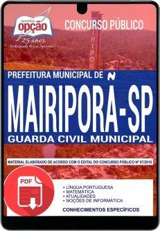 Guarda Civil Municipal Mairipora Sp Concurso