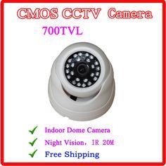 $11.50 (Buy here: https://alitems.com/g/1e8d114494ebda23ff8b16525dc3e8/?i=5&ulp=https%3A%2F%2Fwww.aliexpress.com%2Fitem%2FLow-Cost-Wifi-1080P-IP-Camera-Wireless-Wifi-HD-IP-Security-Camera-Outdoor-Waterproof-2-0%2F1761792496.html ) 1/3 CMOS 700TVL Indoor Security CCTV Camera 36pcs IR LED Home Video Surveillance HD Night Vision Video Mini Dome Camera for just $11.50