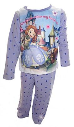 Sofia the First Disney Little Girls Pyjamas Age 34 Years *** You can get more details by clicking on the image-affiliate link.