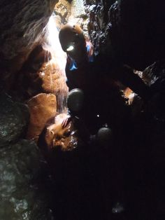 P8 Caving Trip. Want something exciting and adventurous? Why not book a caving course with us? #activateyourlife