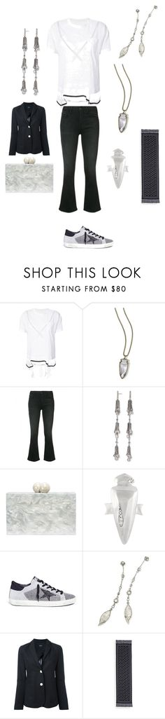 """""""peace comes from within"""" by emmamegan-5678 ❤ liked on Polyvore featuring Sacai, Kendra Scott, Frame, Ashlyn'd, Golden Goose, Armani Jeans, Alexander McQueen and modern"""