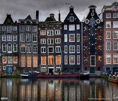 Amsterdam, Netherlands. I love love love Amsterdam.