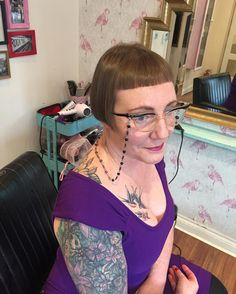 "33 Likes, 4 Comments - Harlows Den (@harlowsden) on Instagram: ""Cut and finish for Bettie by Laura today """