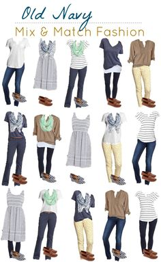 3.17 Old Navy Mix Match Fashion Board VERTICAL