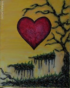 Heart Abstract Painting