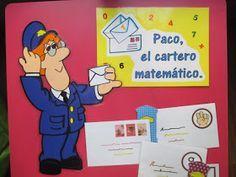 Hoy os presento un nuevo material con el que vamos a trabajar muchas cosas: secuencia numérica, asociación cantidad-grafía, conjuntos ... Math Activities, Teacher, School, Blog, Fictional Characters, Peru, Ideas Para, Ideas, Teaching Activities