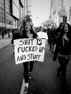 shit is fucked up and stuff | Occupy Vancouver