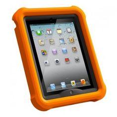 NEW Genuine LifeProof Fre Nuud Lifejacket 1139 Float Case for iPad 2 3 4 Retina Ipad 4, New Ipad, Waterproof Ipad Case, Apple Ipad 1, Cell Phone Accessories, Cool Things To Buy, Coding, Orange, Water