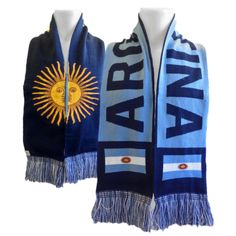 Argentina 2014 FIFA World Cup Team Knit Scarf - IceJerseys.com - Official Fan Shop