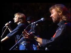 This concert is what made me fall in love with the Bee Gee's, I think I was 16.   Bee Gees - How Deep Is Your Love (Live-HQ)