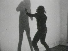 "Vito Acconci, ""Three Relationship Studies: Shadow-Play"" Super 8 transferred to . Courtesy of Electronic Arts Intermix (EAI), New York. Human Shadow, Film Studies, Vito, Shadow Play, Whitney Museum, Flash Art, Electronic Art, Film Stills, Moma"