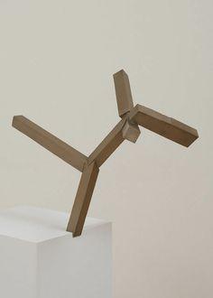 """""""Untitled (JS13-7)"""" by Joel Shapiro"""