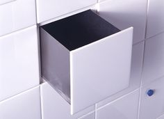 Functional Tile with In-built drawer by DTILE