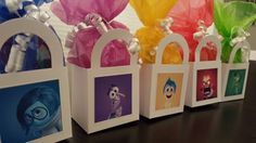 10 Pre-Filled Disney Inside Out Birthday Party Favors Goody Bags Sticker Candy Toys by caliknowshowtoparty on Etsy https://www.etsy.com/listing/238540791/10-pre-filled-disney-inside-out-birthday