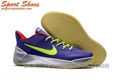 on sale 917c7 23df4 Nike Kobe A.D. Sneakers For Men Low Silver Purple Green Top Deals KhYHPRx
