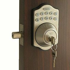 1000 Images About Keyless Front Door Locks On Pinterest