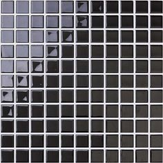 front side of the crystal glass mosaic tile for swimming pool - hj140