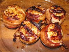 Grilled Bacon Wrapped Crappie Fillets