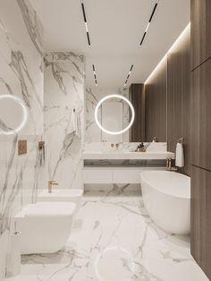 tips_iluminacion_casa Washroom Design, Toilet Design, Bathroom Design Luxury, Modern Bathroom Design, Modern Luxury Bathroom, Small Bathroom Interior, Master Bathroom, Light Bathroom, Simple Bathroom