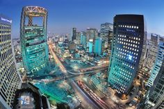 nightscape Seoul