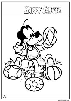 Pin By Magic Color Book On Easter Coloring Pages
