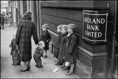 Cartier-Bresson when he came to Liverpool in 1962 as part of a team filming a TV documentary about northerners. Liverpool 1962