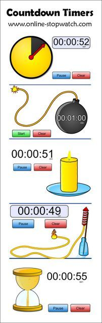 Fun Countdown Timers for the Classroom