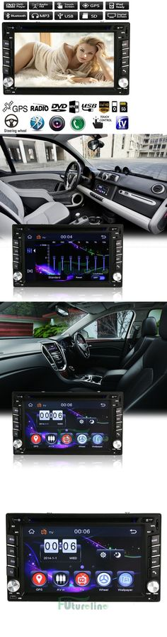 Video In-Dash Units w GPS: 6.2 Double 2Din Car Stereo Cd Dvd Player Gps Navi Bluetooth Touch Fm Radio Ipod -> BUY IT NOW ONLY: $85.99 on eBay!