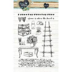 Bible Art Journaling Stempel Set Love & Home