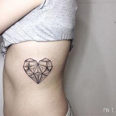 Als een diamant  - 13x originele hart tattoeages  - Nieuws - Lifestyle