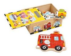 Wooden toys and educational toys online - Toys and Games Ireland Wooden Puzzle Box, New Puzzle, Wooden Puzzles, Jigsaw Puzzles, Wooden Toys For Toddlers, Toddler Toys, Wooden Storage Boxes, Wooden Boxes, Play Table