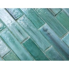 Melay Glass Laguna x Glass Mosaic Tile Green Tile Backsplash, Green Mosaic Tiles, Decorative Tile Backsplash, Glass Mosaic Tiles, Waterline Pool Tile, Shower Accent Tile, Glass Pool Tile, Maine, Glass Installation