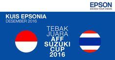 Yuk ikutan #kuis #TebakJuaraAFFCup2016 di twitter @EpsonIndonesia, menangkan 4 voucher MAP @ 300k.