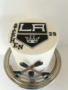 kings hockey cake la kings