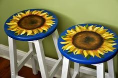 New Kitchen Decor Countertop Soapstone Ideas Green Kitchen Decor, Copper Kitchen Decor, Colorful Kitchen Decor, New Kitchen, Soapstone Kitchen, Kitchen Sinks, Cool Furniture, Painted Furniture, Sunflower Themed Kitchen