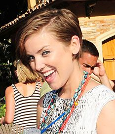 Jessica Stroup short hair